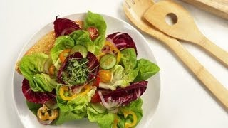 The Art of Plating a Garden Salad | Food How To