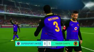 PES2018: PSL MATCH DAY 5 CHIEFS VS SUPERSPORT