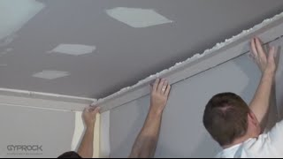 How To Install Plasterboard Part 5: Installing Cornice