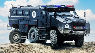 8 COOLEST MILITARY AND POLICE VEHICLES