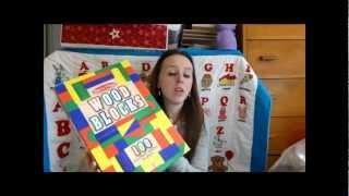 Melissa and Doug 100 Wood Blocks Review
