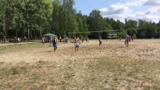 Пляжный волейбол.  Часть 3