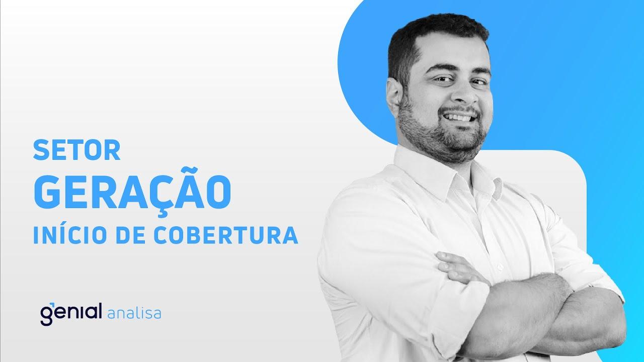Thumbnail do vídeo: Início de Cobertura – Setor de Geração // Vitor Sousa