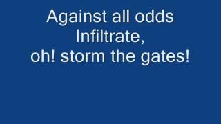 Tenacious D storm the gates break in city
