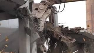 preview picture of video 'Tianjin rive est démolition côté droit  天津市河东区右边拆'