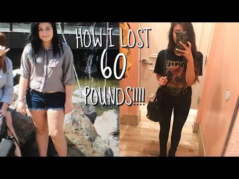 Video HOW I LOST 60 POUNDS!! TIPS/MOTIVATION