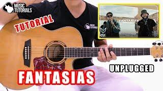 Cómo Tocar FANTASIAS (Unplugged) De Rauw Y Farruko En Guitarra (Tutorial + PDF GRATIS) 🥰
