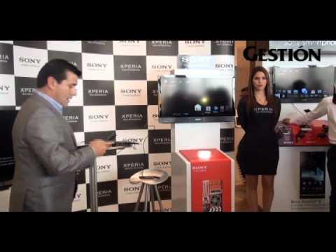 Sony entra a la batalla de los smartphones en el Perú con el Xperia S