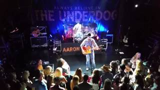 Aaron Watson at Troubadour Off The Record and Fence Post Acoustic