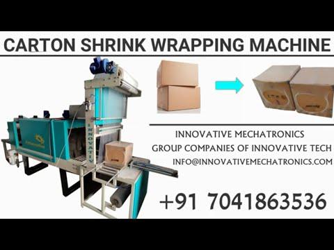 Carton Box Shrink Wrapping Machine