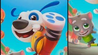 Говорящий Кот Том ЗА ЗОЛОТОМ Мультик игра видео для детей  Марафон  Игровой мультфильм