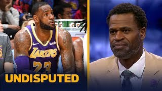 Stephen Jackson: 'I wouldn't play' LeBron the rest of the year if I'm the Lakers   NBA   UNDISPUTED