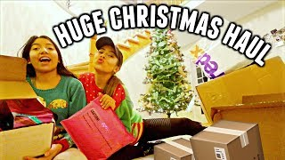 CHRISTMAS HAUL 2018!! Too Faced, MAC, NYX and more! | Vlogmas Day 1