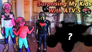 Surprising My Kids With ATVS (Royalty Fell Off)