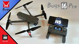 Drone // MJX BUGS 16 PRO // Review , Unboxing , Flight Test.