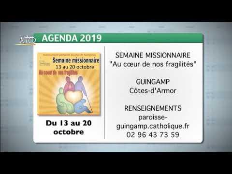 Agenda du 7 octobre 2019