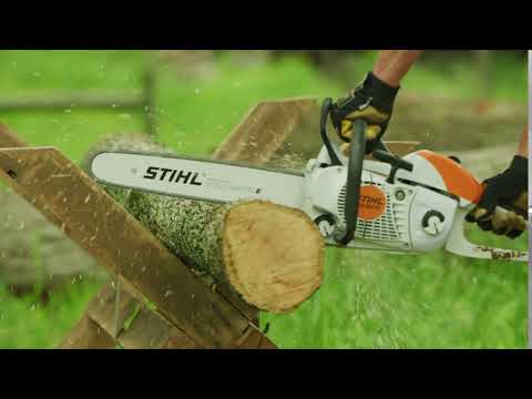 Stihl MS 201 C-EM 12 in. in Philipsburg, Montana - Video 1