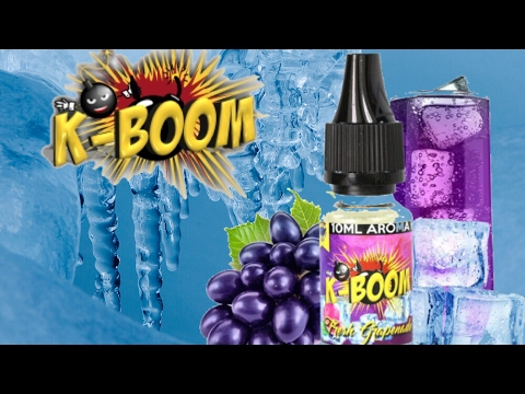 YouTube Video zu K-Boom Fresh Grapenade Premium Aroma 10 ml