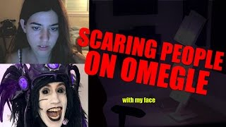 SCARING PEOPLE ON OMEGLE