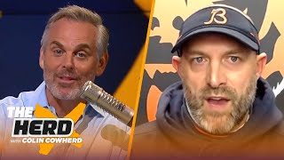 Bears HC Matt Nagy on Mitch Trubisky's improvements, the team's 2-0 start and more | NFL | THE HERD