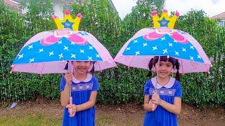 หนูยิ้มหนูแย้ม เล่นน้ำฝนกับร่มเจ้าหญิง