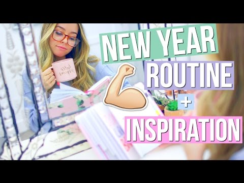 My New Year Routine! + How To Stay Motivated!