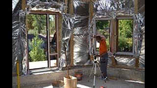Mонтаж пластиковых окон Rehau Geneo в каркасном доме,секреты монтажа пластиковых окон Rehau Geneo