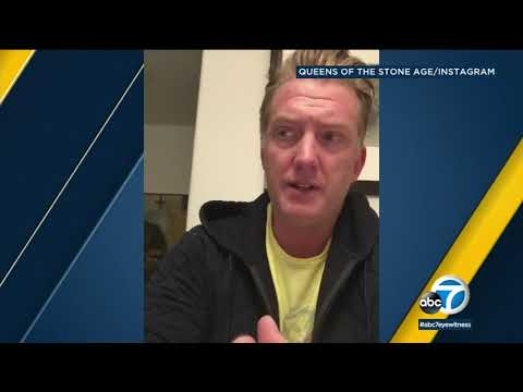 Queens of the Stone Age singer apologizes for kicking photographer | ABC7