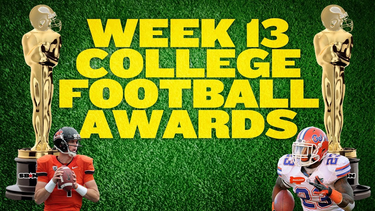 College Football Week 13 Awards thumbnail