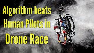 New Algorithm Flies Drones Faster than Human Racing Pilots