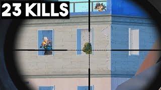 THEY TRIED TO HIDE! | 23 KILLS SOLO vs SQUADS | PUBG Mobile 🐼