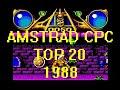 Amstrad Cpc Top 20 Games 1988