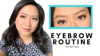 Eyebrow Routine for Everyone - Noe Mae Lapus