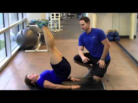 Personal Trainer Vancouver    Lying Hip Raise