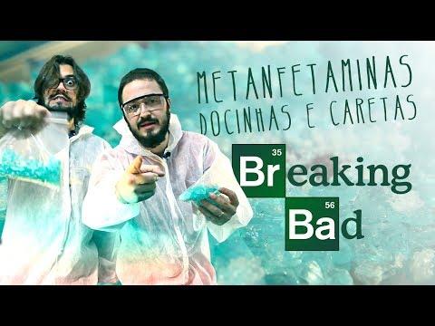 Metanfetaminas Docinhas e Caretas do Breaking Bad