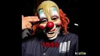 Slipknot Clown Mask Evolution (1999-2015)