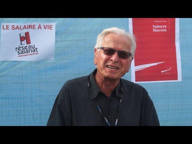 Bernard Friot & Nicolas Castel Réseau Salariat Séminaires mensuels Bourse du Travail Paris 2018 2019
