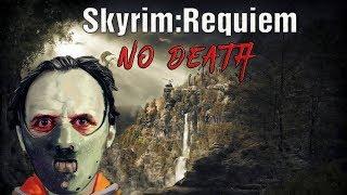 Skyrim Requiem (No Death): Босмер-Людоед (маг-атронах) #7 Смертельная стрела!