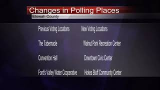 Polling Place Changes in Etowah County