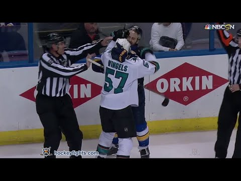 Kevin Shattenkirk vs. Tommy Wingels