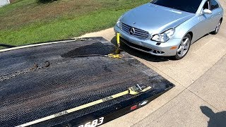 Luxury Car Tow... Mercedes on the Mend