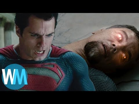 Top 10 Times Superheroes Killed the Villain