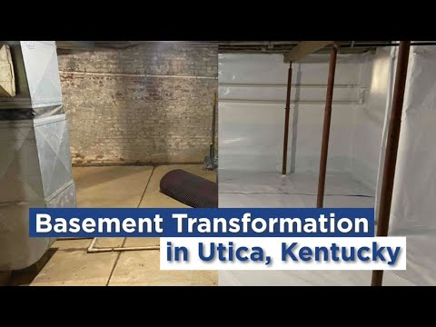 Basement Transformation in Utica, KY