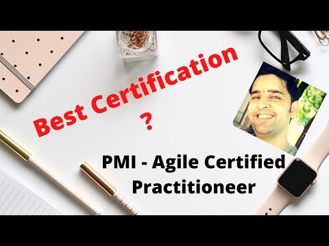 PMI AGILE CERTIFIED PRACTITIONER CERTIFICATION 2021 ...