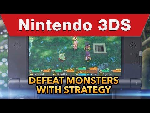 Nintendo 3DS - Etrian Mystery Dungeon Trailer thumbnail