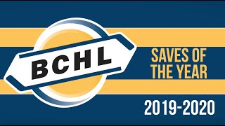 BCHL Saves of the Year 2019-20