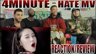 FIRST 4MINUTE 포미닛 - HATE 싫어 REACTION/REVIEW