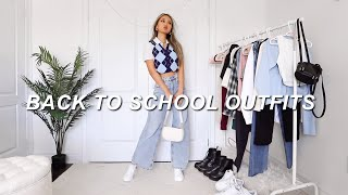 BACK TO SCHOOL CASUAL OUTFITS  📚| aesthetic fashion lookbook 2020