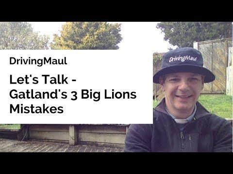 Gatland's 3 Big Lions Mistakes