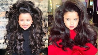 Аномальные волосы сделали девочку из Израиля известной на весь мир!